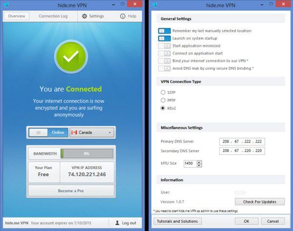 hide.me VPN 3.1.0 Crack With Torrent {Mac + Windows} Free Download
